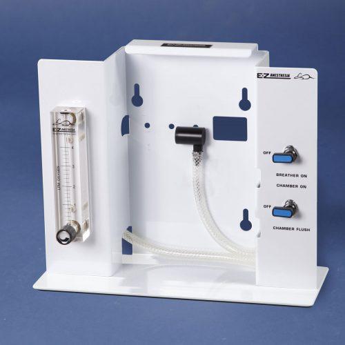 EZ-108SA-NV Single Animal Anesthesia Machine without Vaporizer