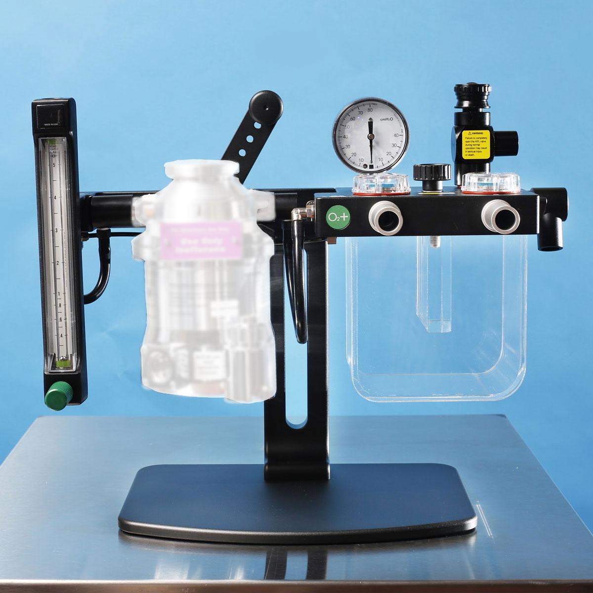 EZ-RB1000NV Veterinary Anesthesia Machine No Vaporizer