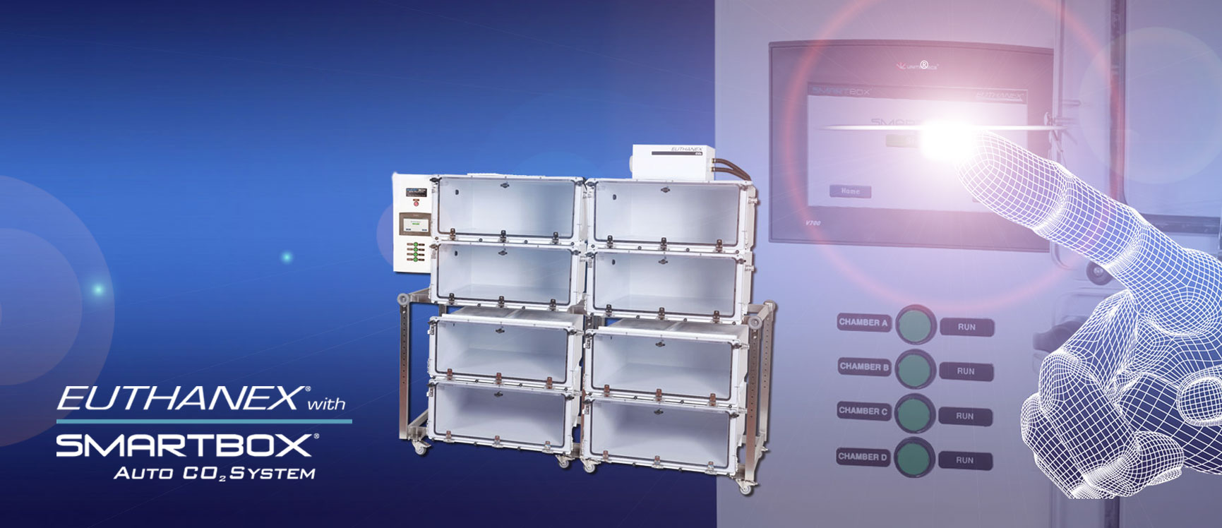 SMARTBOX Touch Screen Rack Systems